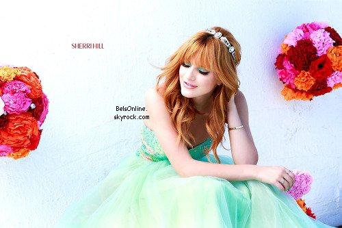 Nouveau shoot de Bella Thorne pour Sherri Hill