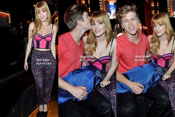 Bella Thorne et Tristan Klier à l'anniversaire de Stella Hudgens le 16 novembre 2013