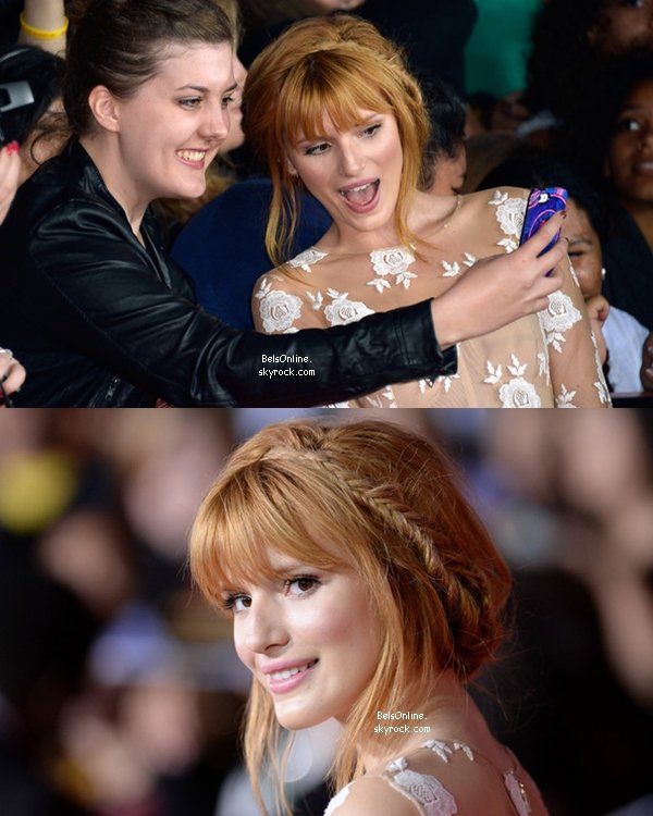 Bella Thorne à la première du film Hunger Games : Catching Fire le 18 novembre 2013 (partie 2)