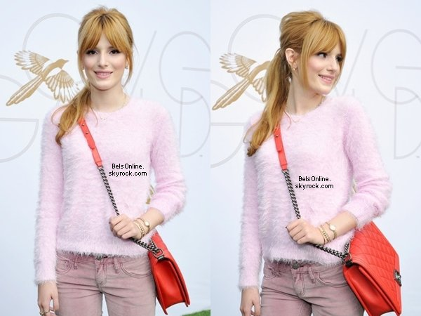 Bella Thorne à la Stars at the LoveGold Luncheon le 9 Janvier 2014