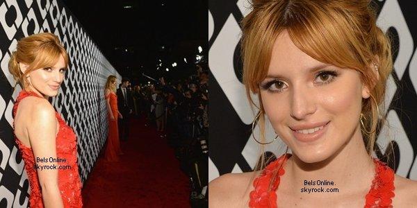 """Bella Thorne à la soirée d'ouverture de Diane Von Furstenberg's """"Journey Of A Dress"""" le 10 Janvier 2014"""