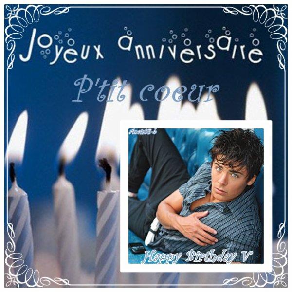 ★.•°•.•  C'est l'anniversaire de ma  V •.•°•.★
