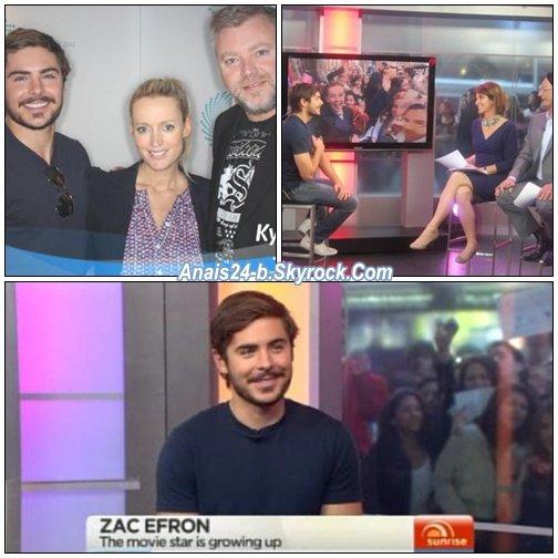★.•°•.• Zac à Sydney ...aux Studios de Chanel 7 •.•°•.★