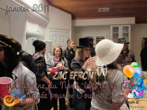 - - ★.•°•.• Zac en Caroline du Nord•.•°•.★ (23 janvier 2011 ???) - -