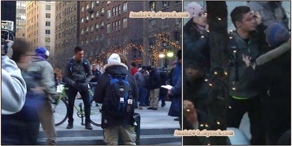 - - ★.•°•.• Zac sur le tournage de New Year's Eve à New York •.•°•.★ - -