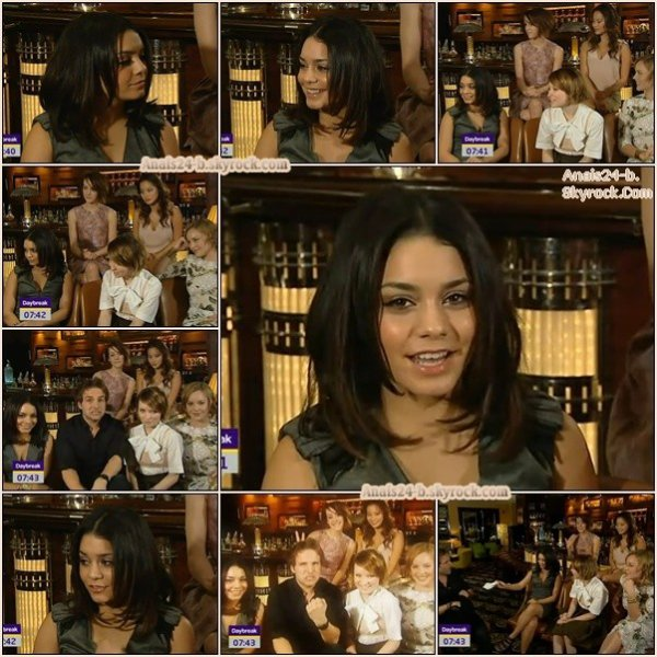 - - ★.•°•.• Interview Vanessa à Londres •.•°•.★ - -