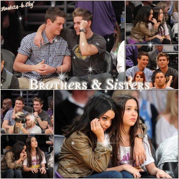 - - ★.•°•.• Zac dans L.A et à un match + Vanessa pour Candie's  •.•°•.★ - -
