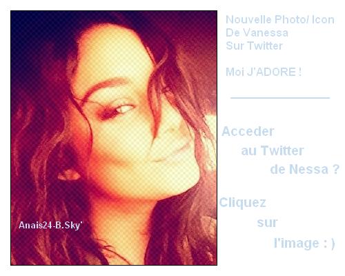 - - ★.•°•.• Vanessa Twitter + Nouvelle Affilié •.•°•.★ - -