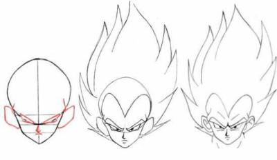Dessin Dragon Ball Z Gt