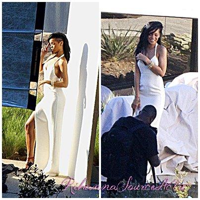 04.07.12 :Rihannaaperçuà sa séance photo pour le Magazine Harper's :