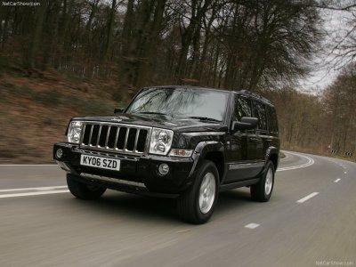 Jeep Commander UK Version