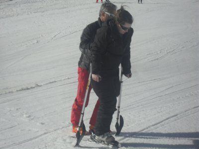 Amputée à 15ans: Handi ski ... *