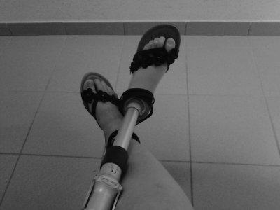 Amputée à 15ans: Nouvelle prothèse ... *