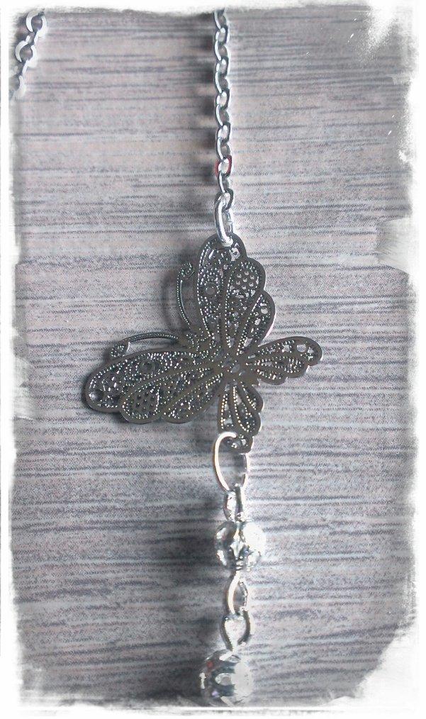 Sautoir papillons
