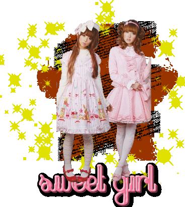♥  Sweet Lolita  ♥  Je trouve cette mode mignonne ^-^
