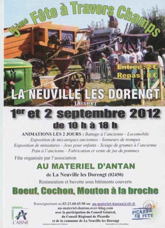 Arlon 2012/La Neuville les Dorengt 2012