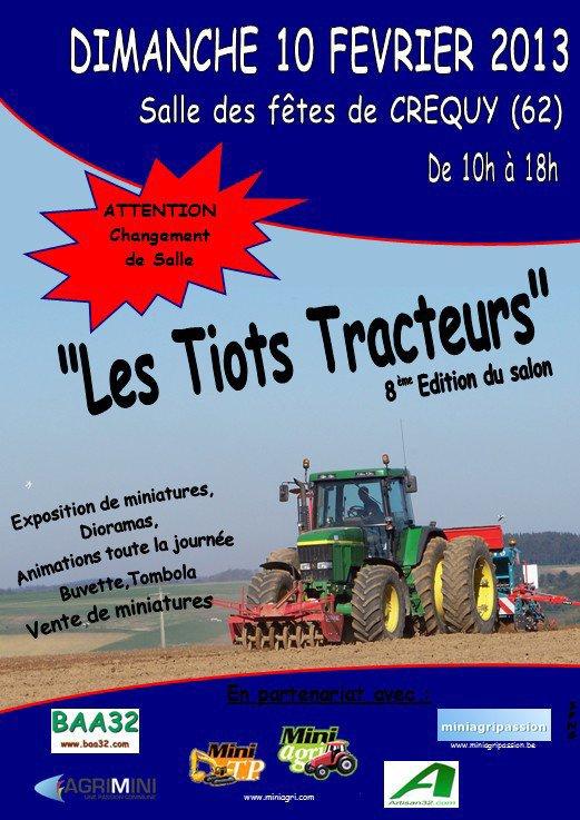 Exposition de miniatures agricole à Crequy (anciennement Fressin)