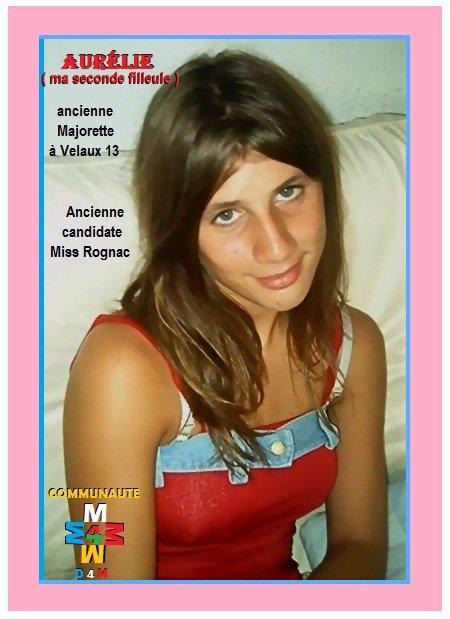 D4M.2012-169 >>> Aurélie, un filleule de coeur pour toujours, c'est montrer ce que l'on es.