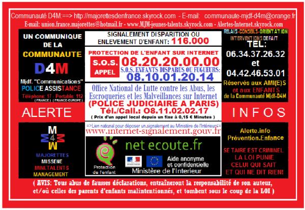 D4M Assistance, pôle Alerte.info-Prévention.enfance