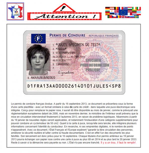 bientôt, BiEnTôT, BIENTÔT,, vôtre permis de conduire va se transformer