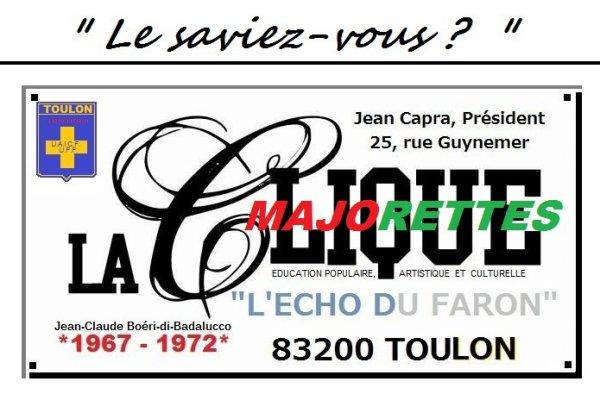 """La Clique """"l'Echo-du-Faron"""""""