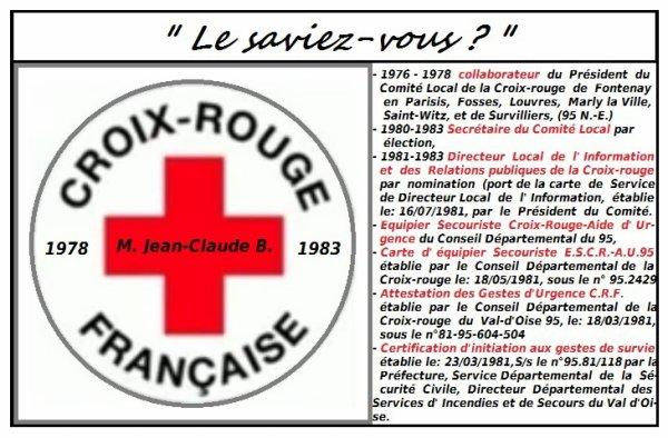 Le saviiez-vous, promoteur de la Croix-rouge Jeunesse,