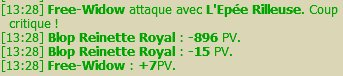 Up des perso / Jolie CC / Record XP