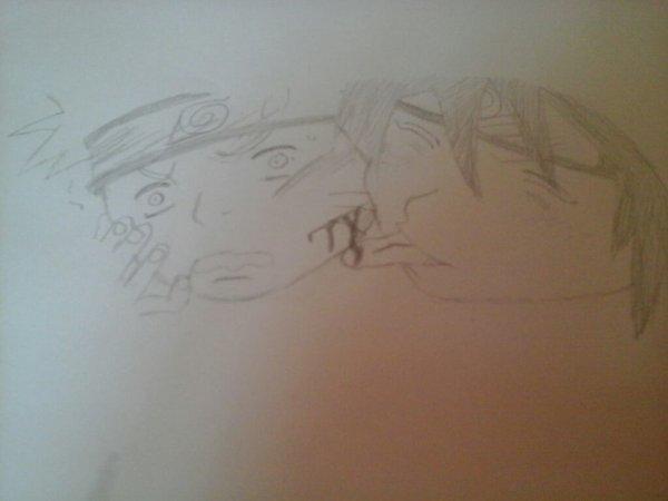 Mon draw de Naruto *.*