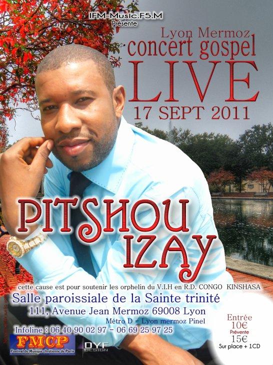 CONCERT GOSPEL  LE 17 SEPTEMBRE 2011 AVEC LE  FR. PITSHOU. IZAY  A LYON