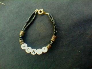 un modèle de bracelet personnalisé