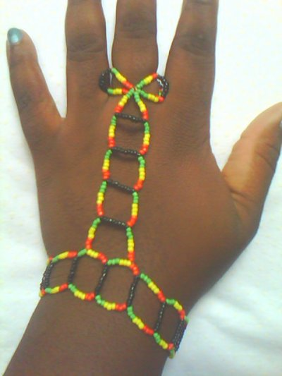 une chaine de main