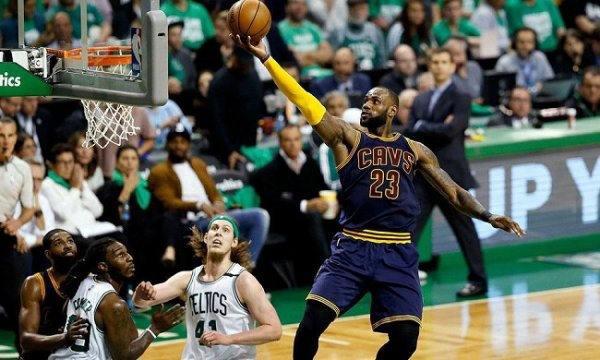 LeBron James in NBA2K