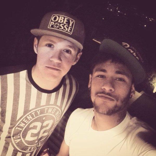 niall et neymar