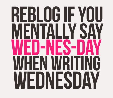 WED-NES-DAY SYNDROME =)