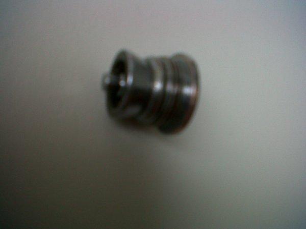 Problème de galet au niveau du guide fil sur mon moulinet...