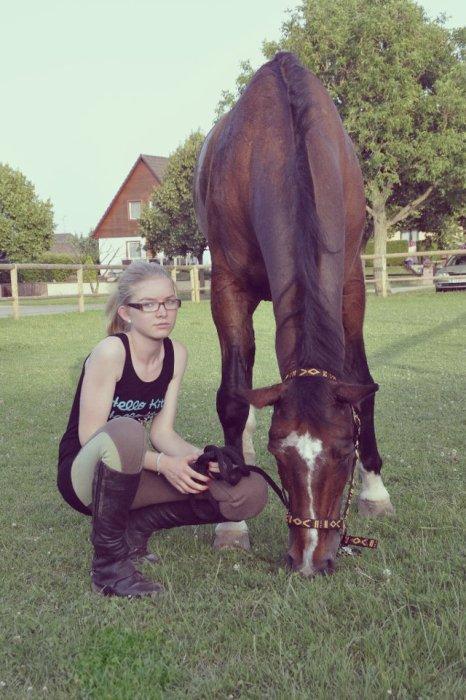 Tu n'as pas besoin de croire en tes rêves, juste de croire en ton cheval ! diane