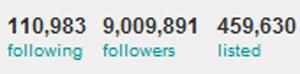 . . Twitter__________________ Justin Bieber à 9 Million de Personnes qui le suivent . .