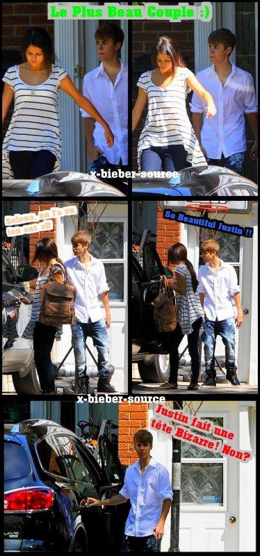 . . 3 Juin 2011__________________ Justin et Selena à Strartford !! . .