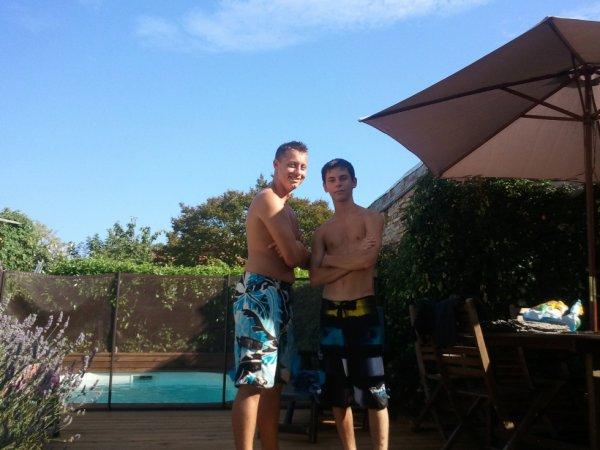 Avec le cousin :)