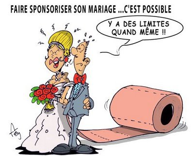 Faire sponsoriser son mariage