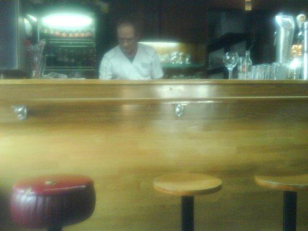 Le client de café