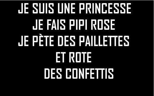 Pas de doute une vraie princesse