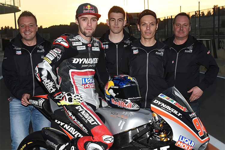 AGR Team + Dynavolt Intact GP + Federal Oil Gresini Moto2