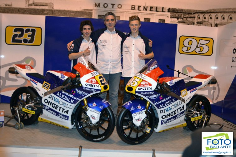 Ongetta-Rivacold + Junior Team Gresini