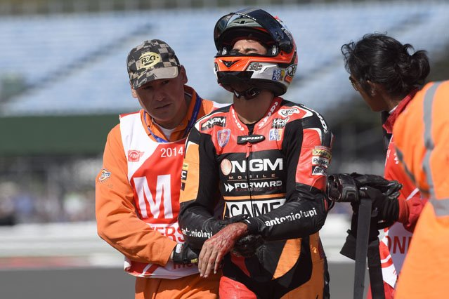 Moto2 / Silverstone / La course