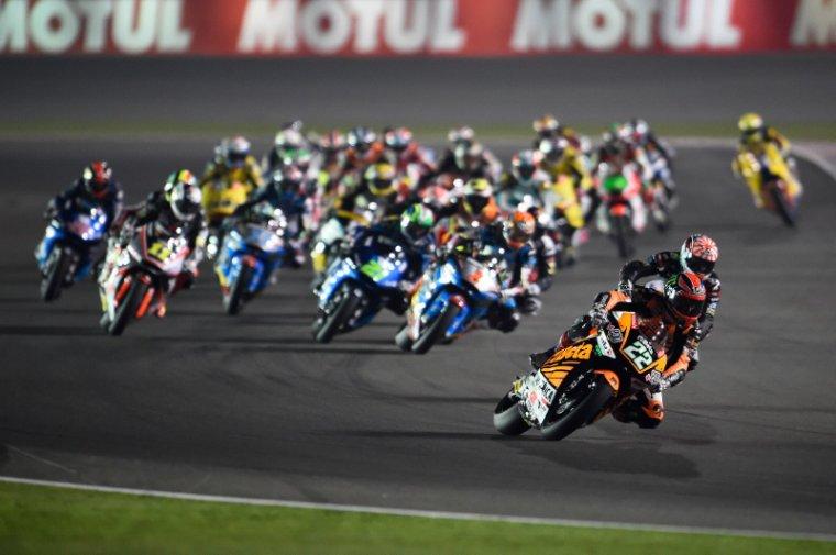 QATAR = Courses Moto3 et Moto2