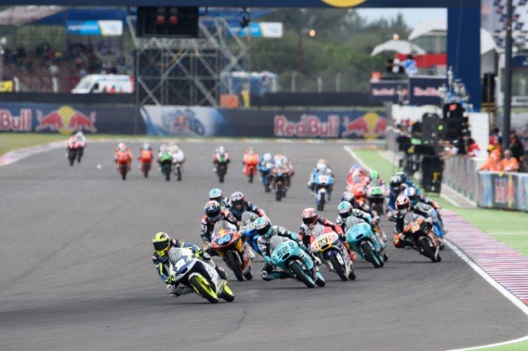 ARGENTINE: Moto3 & Moto2, Les courses