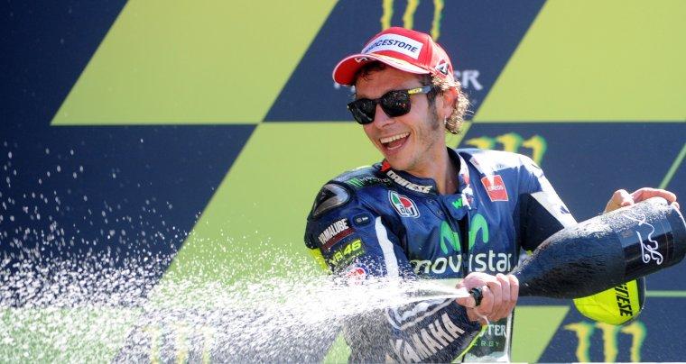 ESPAGNE: Rossi écrit encore l'histoire