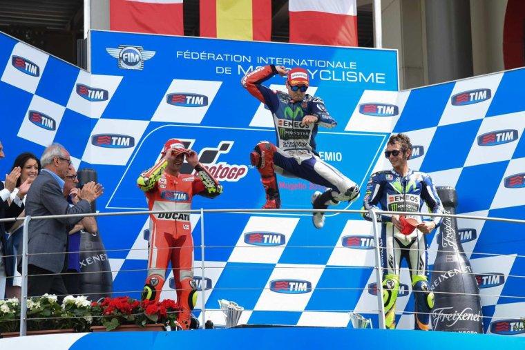 ITALIE: MotoGP, La course