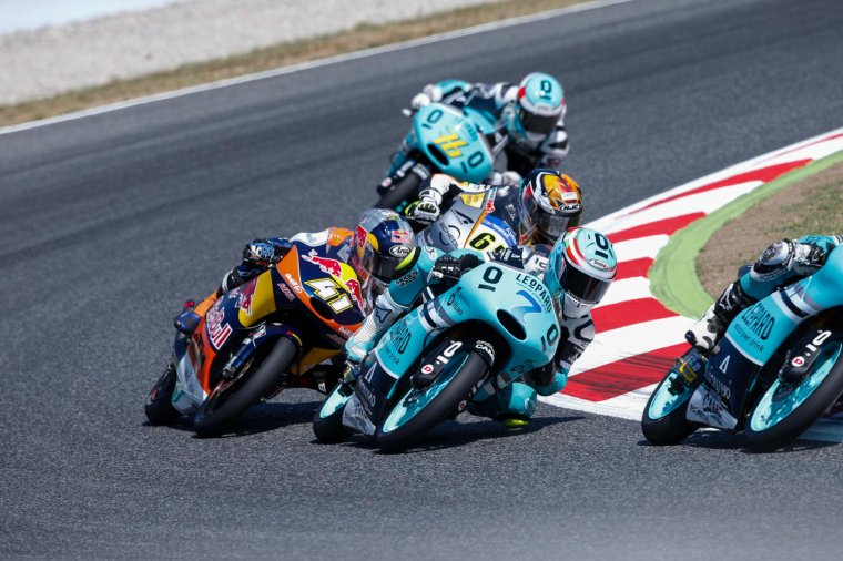 CATALOGNE: Moto3 & Moto2, les courses